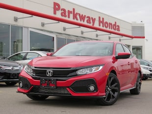 2018 Honda Civic Hatchback Sport Touring Sport Touring CVT