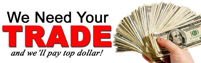 Used Car Trade-In Values in Wilmington near Jacksonville NC
