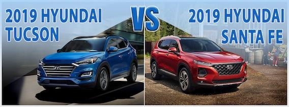 2018 Hyundai Tucson vs  2018 Hyundai Santa Fe Sport