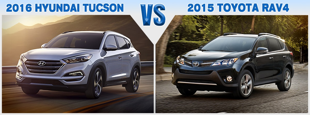Hyundai Lease Specials >> Compare New 2016 Hyundai Tucson vs. Toyota RAV4 | Price Review
