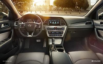 2016 Hyundai Sonata Front Interior
