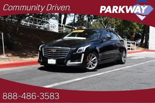 2018 CADILLAC CTS 2.0L Turbo Luxury Sedan for sale in Santa Clarita, CA at Parkway Hyundai