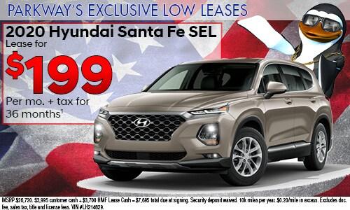 July Low Lease Santa Fe