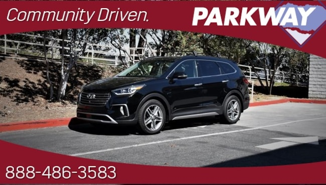 2017 Hyundai Santa Fe Limited Ultimate SUV for sale in Santa Clarita, CA at Parkway Hyundai