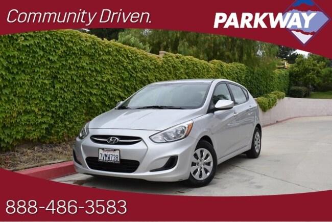 2017 Hyundai Accent SE Hatchback for sale in Santa Clarita, CA at Parkway Hyundai
