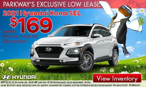 April Low Lease Kona