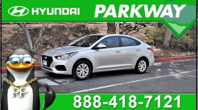 2019 Hyundai Accent SE Sedan for sale in Santa Clarita, CA at Parkway Hyundai