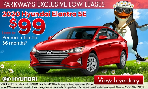 April Low Lease Elantra