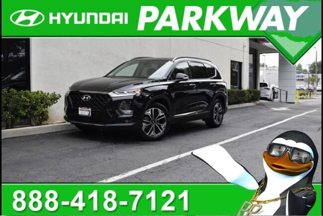 2019 Hyundai Santa Fe Ultimate 2.0T SUV for sale in Santa Clarita, CA at Parkway Hyundai