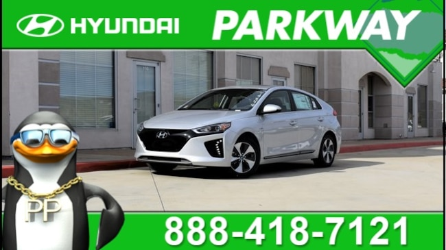 2019 Hyundai Ioniq EV Limited Hatchback for sale in Santa Clarita, CA at Parkway Hyundai