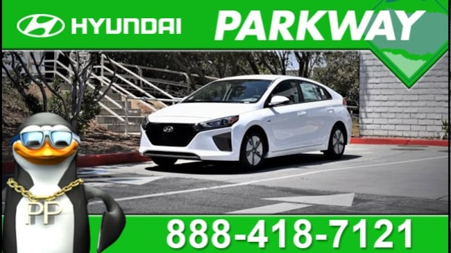 2019 Hyundai Ioniq Hybrid Blue Hatchback for sale in Santa Clarita, CA at Parkway Hyundai