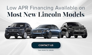Low APR Financing Available