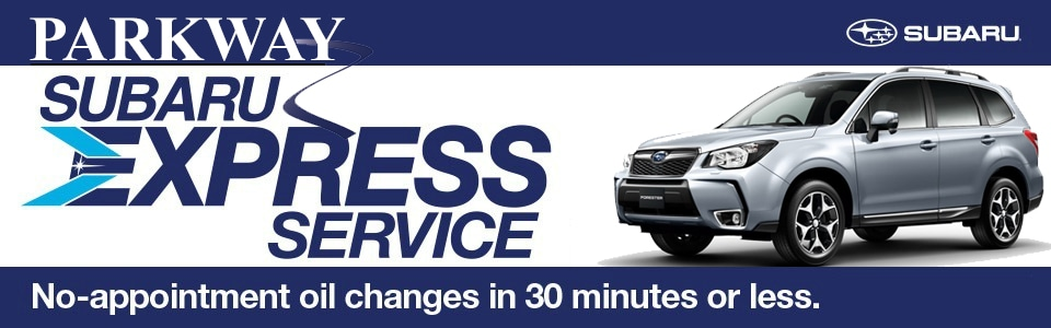 Parkway Subaru Express Service of Wilmington NC