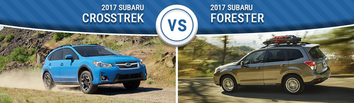 Crosstrek Vs Forester >> 2017 Subaru Crosstrek Vs 2017 Subaru Forester Wilmington Nc Mpg