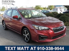 New 2019 Subaru Impreza 2.0i Premium 5-door 19S0133 Wilmington NC