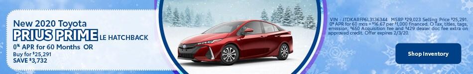 New Toyota Prius Prime LE Hatchback