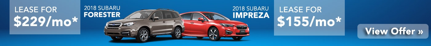 Check Out Our Subaru Specials Now!