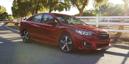 New Subaru Impreza in Wilmington NC