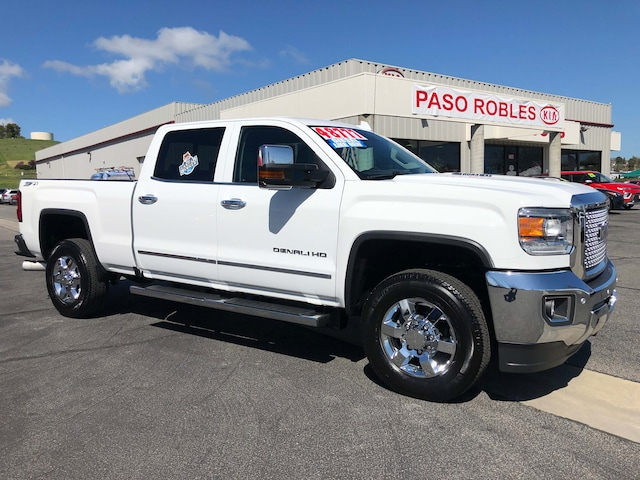 Paso Robles Gmc >> New 2016 Gmc Sierra 3500hd For Sale At Paso Robles Kia Vin