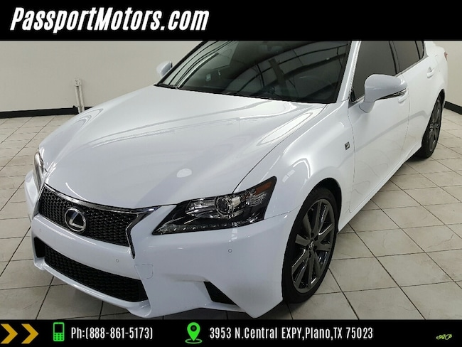 2015 LEXUS GS 350 F Sport Pkg Crafted Line NAVIGATION F SPORT PACKAGE,ONE-TOUCH POWER TRUNK Sedan