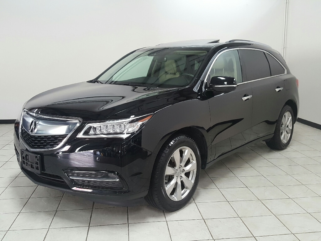 2016 Acura MDX  MDX SH-AWD with Advance Package ADVANCE PKG, BLIND SPOT MONITOR, LANE KEEPING ASSI SUV