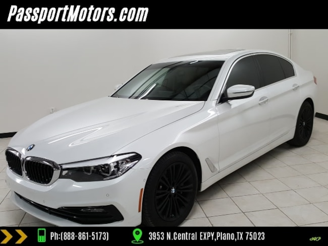 2017 BMW 530i SPORT LINE/TECHNOLOGY PACKAGE/SELF PARKING/REAR VI Sedan