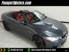 2015 BMW M4 CONVIRTIBLE EXECUTIVE PACKAGE/DRIVER ASSIST PLUS PACKAGE/HEADS Convertible