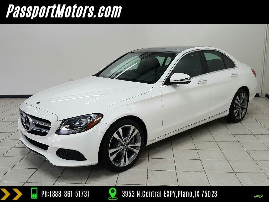 2018 Mercedes Benz C Class C 300:Designo Package, Sport Package,