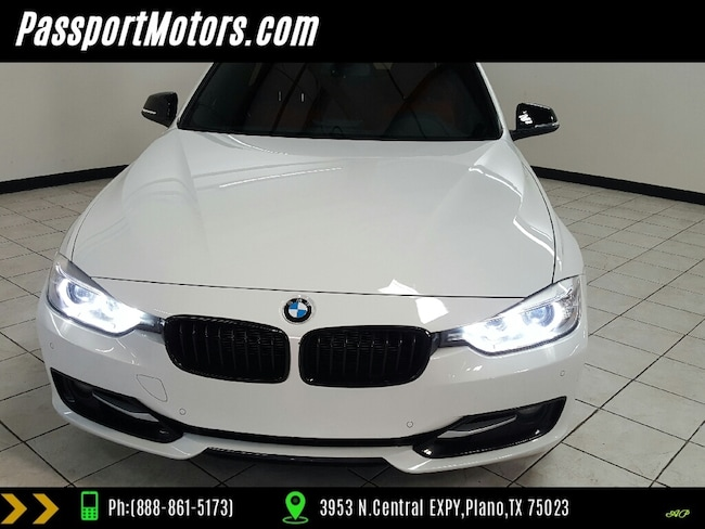 2015 BMW 328i SPORT PACKAGE/DRIVER ASSIST PACKAGE/CORAL RED INTE Sedan