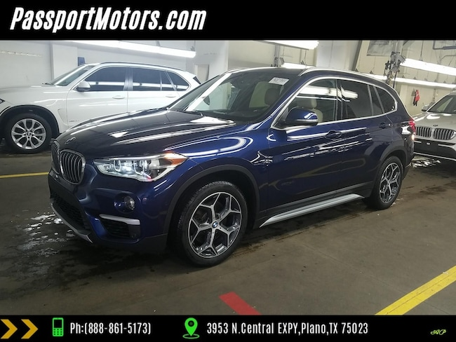 Used 2016 Bmw X1 For Sale At Passport Motors Vin Wbxht3c34g5f66733