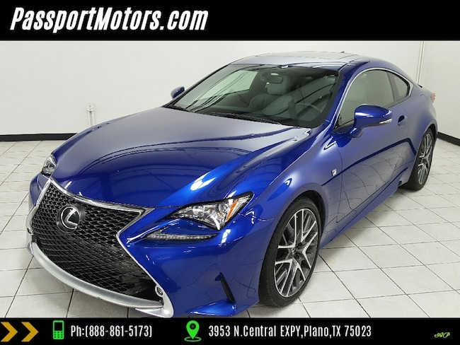 2015 LEXUS RC 350 NAVIGATION, REAR VIEW CAMERA, SUNROOF, PARK ASSIST Coupe