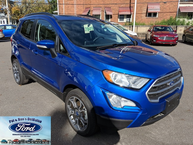 2018 Ford EcoSport SE Crossover