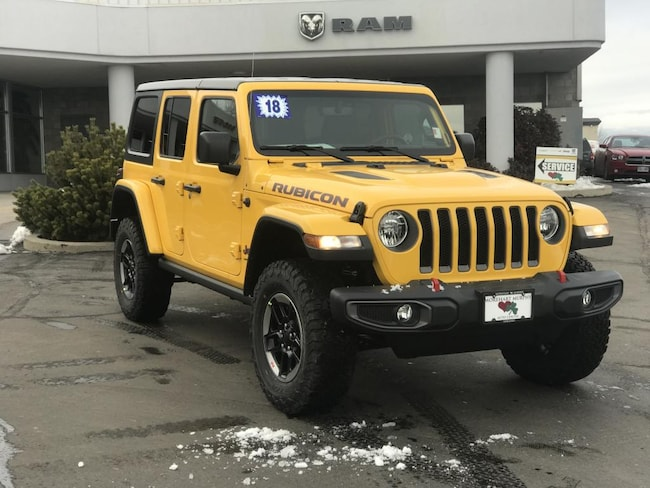 New 2018 Jeep Wrangler UNLIMITED RUBICON 4X4 Sport Utility for sale in Durango, CO