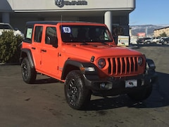 New 2018 Jeep Wrangler UNLIMITED SPORT 4X4 Sport Utility 1C4HJXDN8JW296107 for sale in Durango, CO