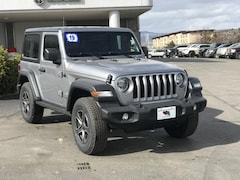 New 2019 Jeep Wrangler SPORT S 4X4 Sport Utility 1C4GJXAN0KW545226 for sale in Durango, CO