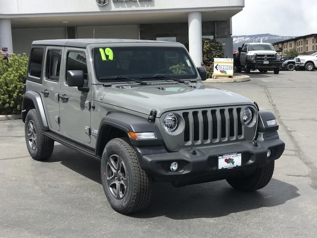 New 2019 Jeep Wrangler UNLIMITED SPORT S 4X4 Sport Utility for sale in Durango, CO