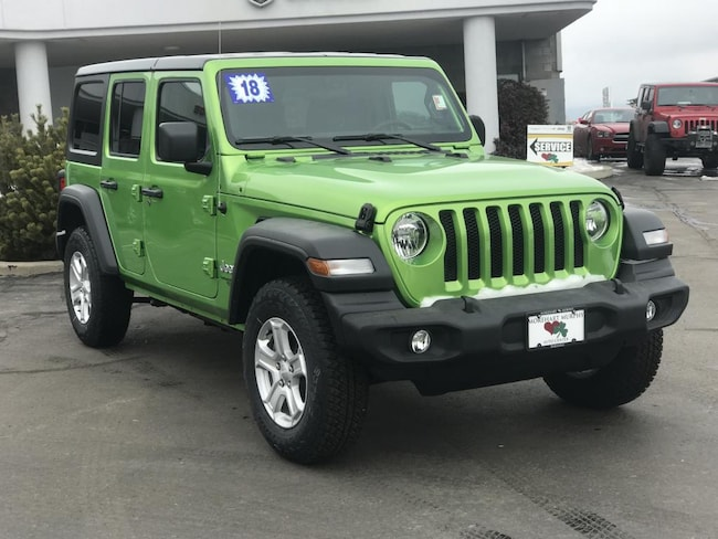 New 2018 Jeep Wrangler UNLIMITED SPORT S 4X4 Sport Utility for sale in Durango, CO