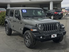New 2019 Jeep Wrangler UNLIMITED SPORT S 4X4 Sport Utility 1C4HJXDGXKW546191 for sale in Durango, CO