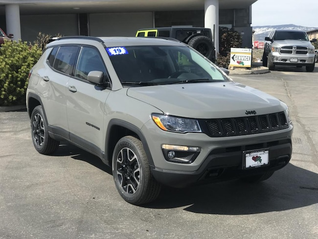 New 2019 Jeep Compass UPLAND 4X4 Sport Utility for sale in Durango, CO