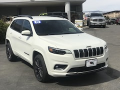 New 2019 Jeep Cherokee HIGH ALTITUDE 4X4 Sport Utility 1C4PJMDX8KD336887 for sale in Durango, CO
