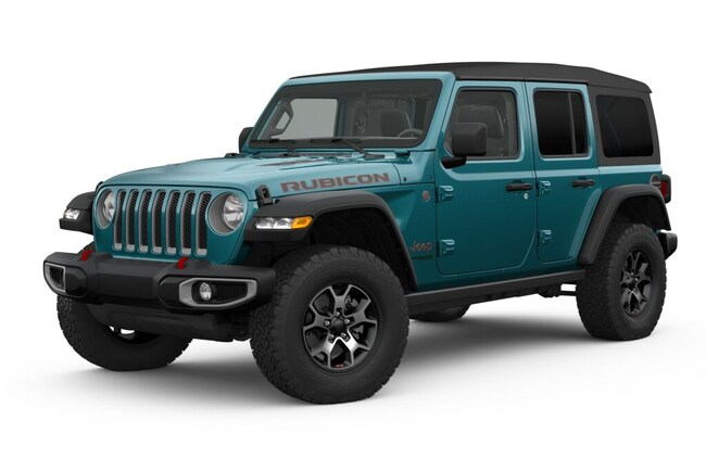 New 2019 Jeep Wrangler UNLIMITED RUBICON 4X4 Sport Utility for sale in Durango, CO
