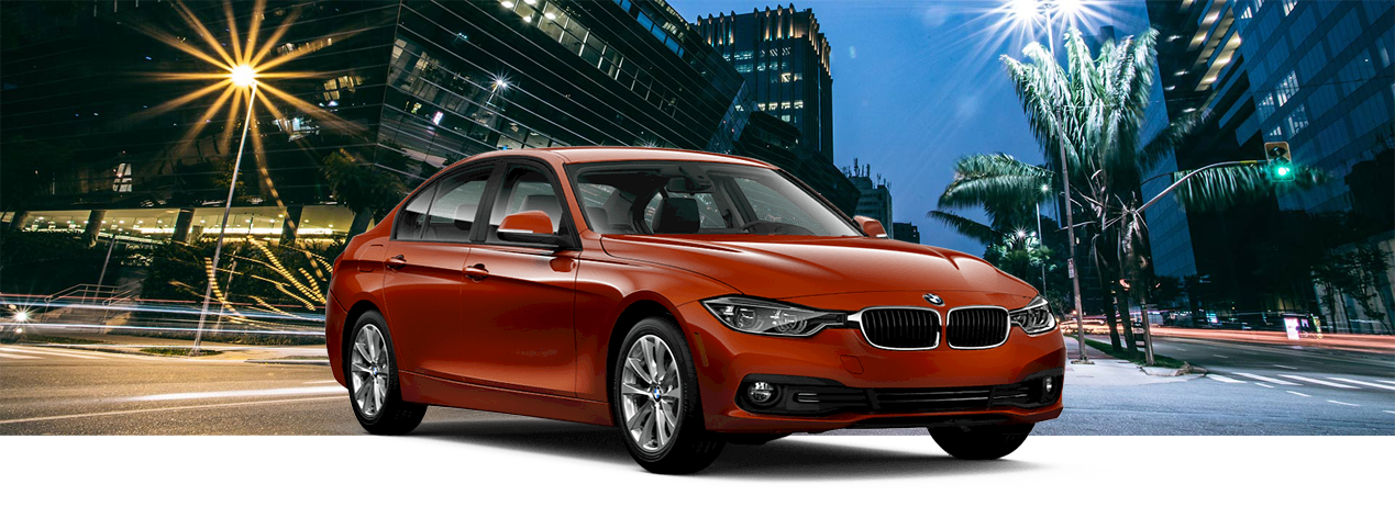 2018 BMW 3 Series with background