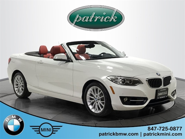Used 2016 BMW 2 Series 228i xDrive Convertible for sale in Chicago Area