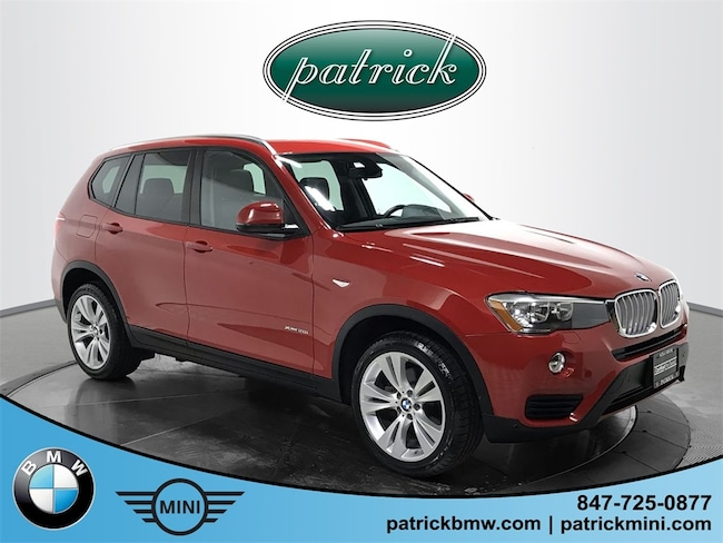 Used 2015 BMW X3 xDrive28i SUV for sale in Chicago Area