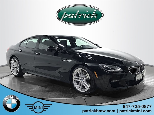 Used 2015 BMW 6 Series 640i Gran Coupe Sedan for sale in Chicago Area