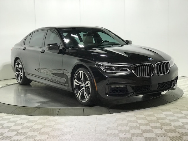 Used 2016 BMW 7 Series 750i xDrive Sedan for sale in Chicago Area