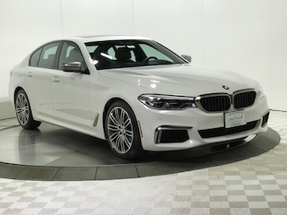 Used 2019 BMW 5 Series M550i xDrive EXECUTIVE Sedan for sale near Naperville, Hoffman Estates & Aurora IL