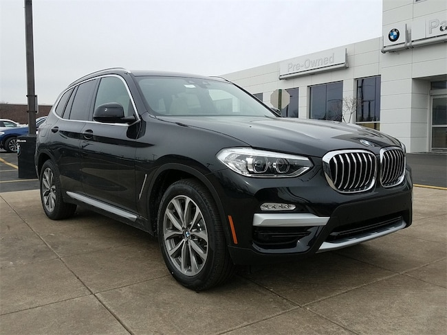 New 2019 BMW X3 xDrive30i SUV for sale in Chicago IL