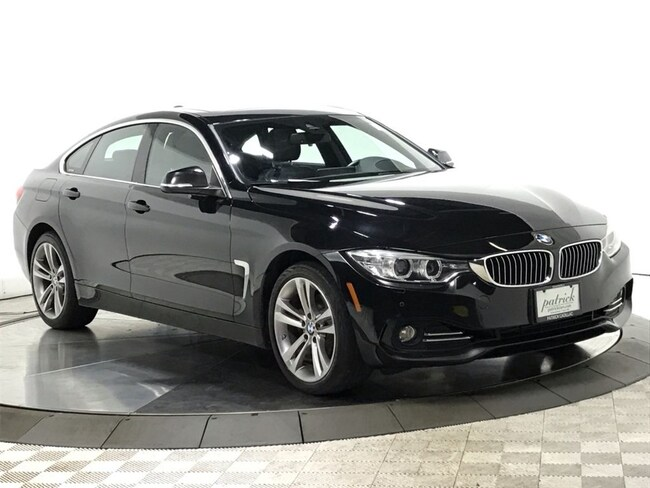 Used 2016 BMW 4 Series 428i xDrive Gran Coupe Hatchback for sale in Chicago IL