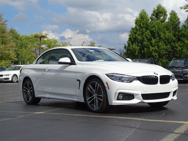 New 2019 BMW 4 Series 430i xDrive Convertible for sale in Chicago IL